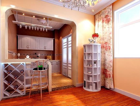 海马公园 三居室 140平米 装修效果图