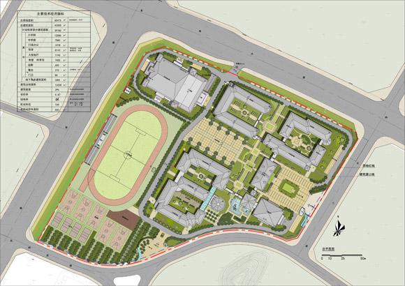 图的图片-学校立体平面图设计-手绘学校平面图简笔画-学校设计鸟瞰图
